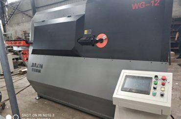 4-12mm hidraulični automatski cnc 2D žičani stroj za savijanje mašina