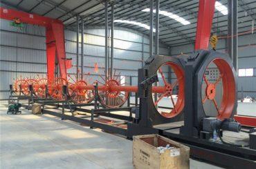 cnc čelični kavez postolje za zavarivanje čelični rolni šraf za varenje korištenje za izgradnju