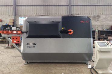 Kina proizvođač 4-12mm automatska CNC kontrolna čelična žica, mašina za savijanje trake
