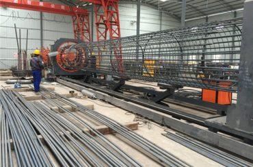 izrađen u jednostavnoj operaciji u Kini trajno i čvrsto osiguranje kvaliteta čelična armatura kavezna mašina za zavarivanje i ojačavanje kaveza